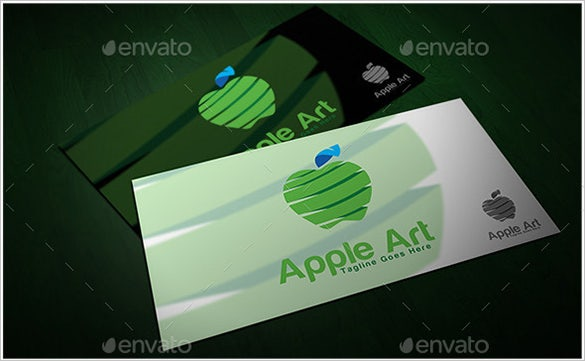 mindblowing premium apple art logo download