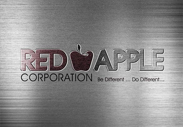 branding of red apple logo free download