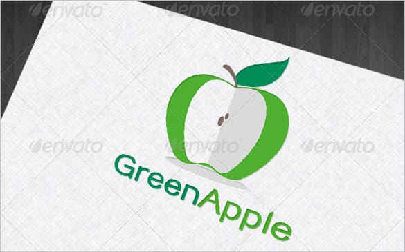 outrageous green apple logo premium for you