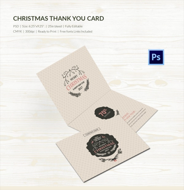 christmas owl printable christmas thank you card