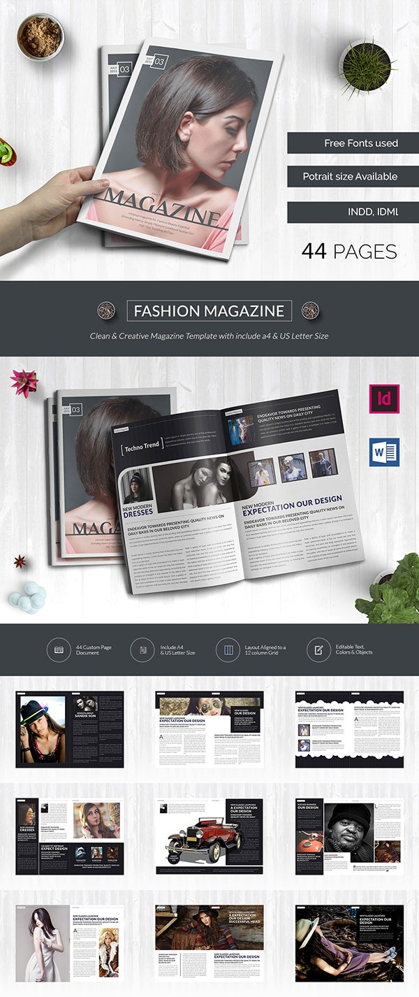 55+ Brand New Magazine Templates - Free Word, PSD, EPS, AI ...