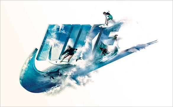 amazing nike surf up tribute logo for free