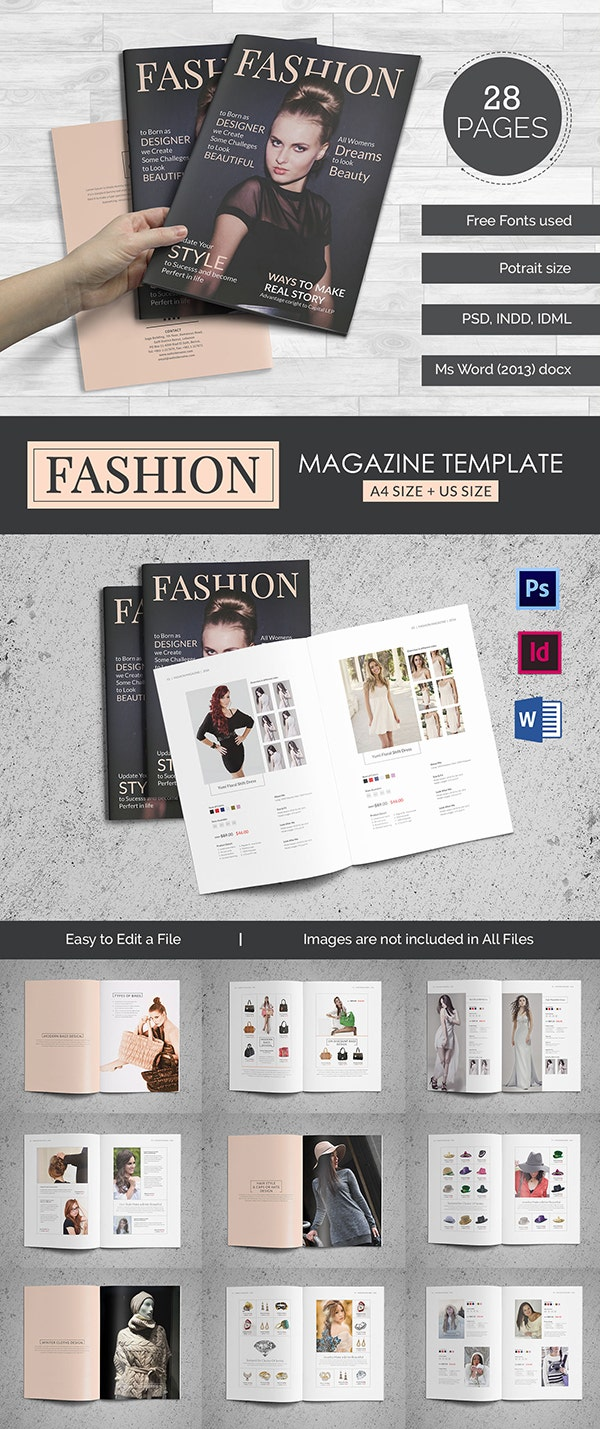 55 brand new magazine templates free word psd eps ai for Microsoft word catalog template