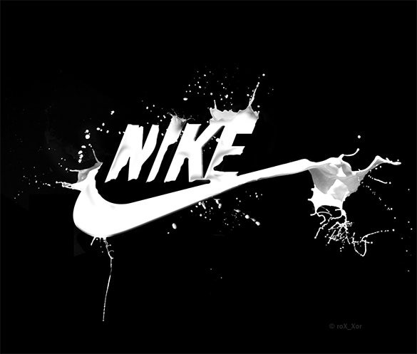 photomanip nike logo for free