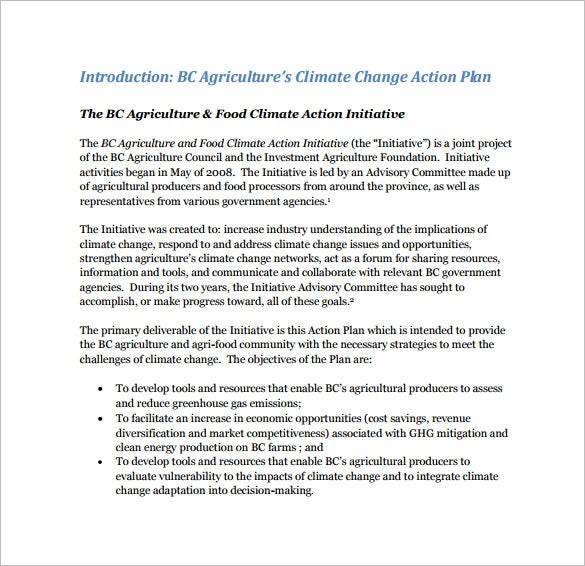 bc agriculture climate change action plan pdf download