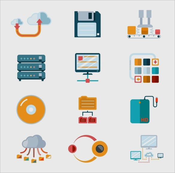 awesome information icons collection