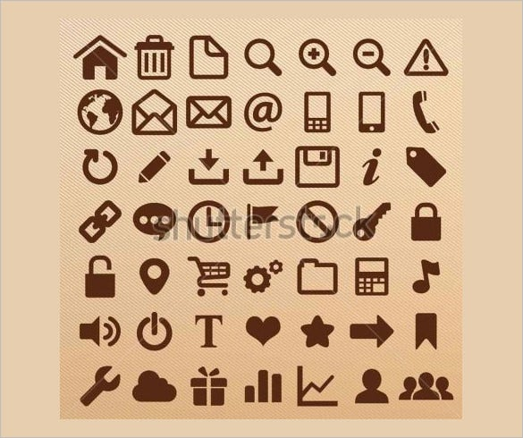 amazing design information icons set