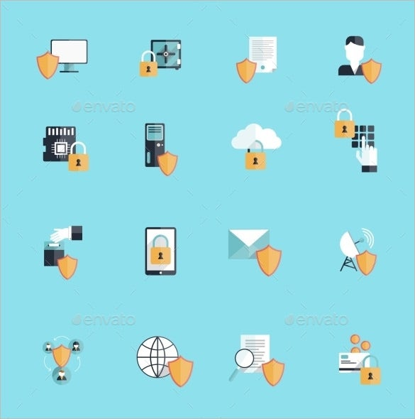 best information icons set for vector
