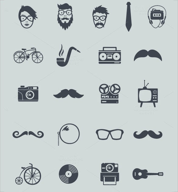best modern information icons collection