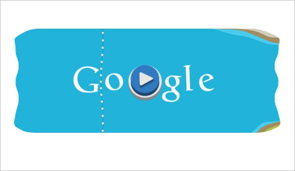 slalom canoe interactive google logo