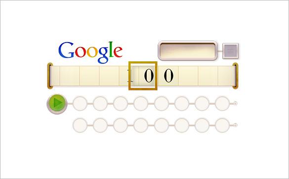 alan turing 100 interactive google logo