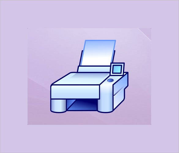 unique printer icons collection