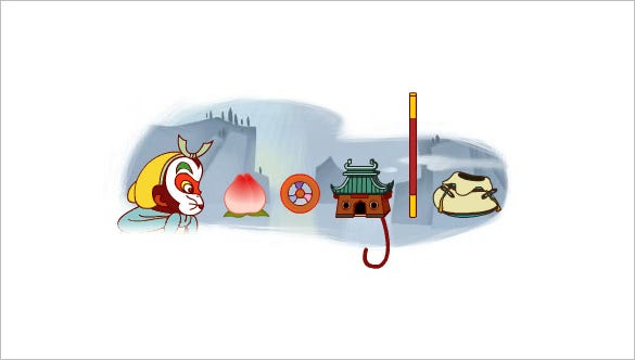 havoc in heaven interactive google logo