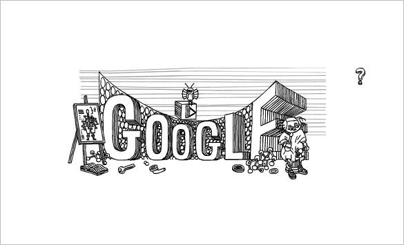 stainislaw lem interactive google logo