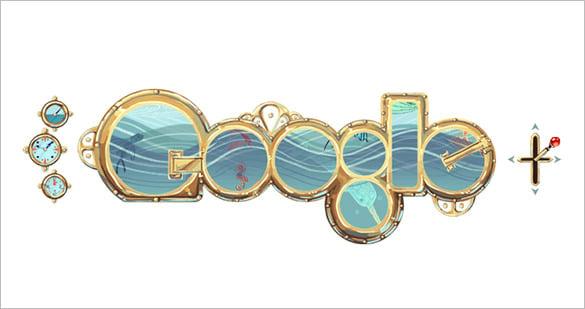 free verne interactive google logo