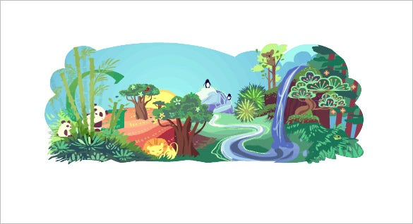 earth day interactive google logo