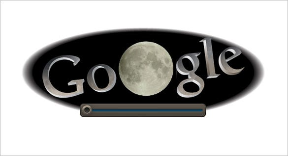 total lunar eclipse interactive google logo