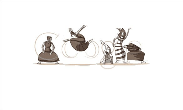 martha graham interactive google logo
