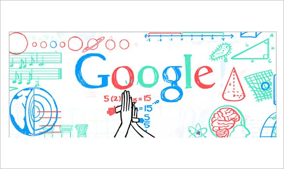 teachers day interactive google logo