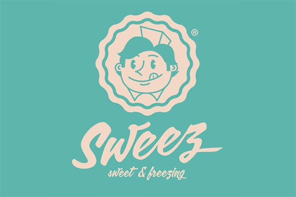 sweet freezing fresh business logo