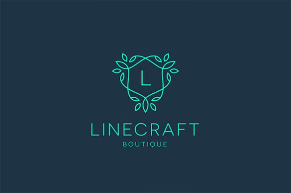 20 best premium boutique fresh business logo