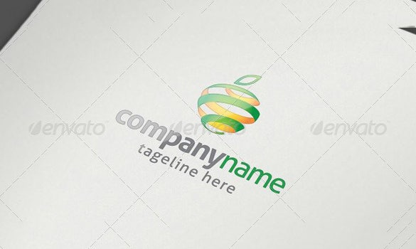 optimum health fresh business logo for premium