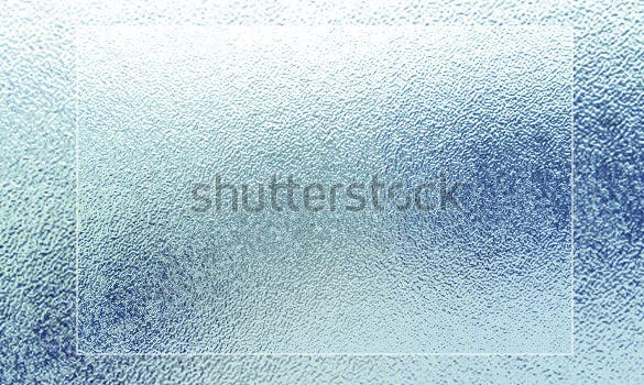 creative frosted glass textures