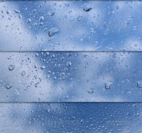 amazing wet glass textures