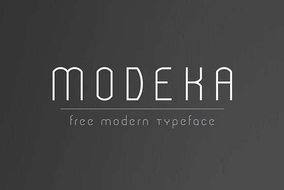modeka modern font for designers