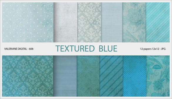 multiple blue photoshop textures