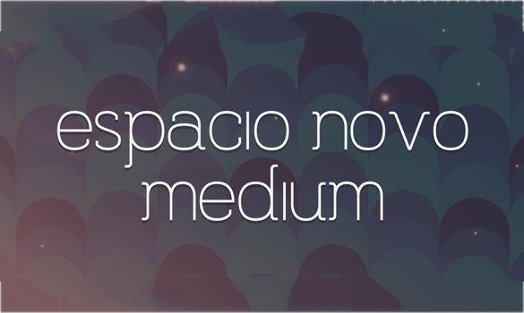 espacio nova modern font for designers