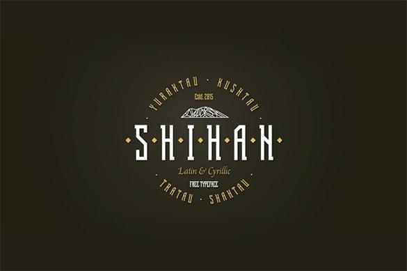 shihan modern font for designers