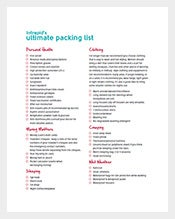 Sample-Packing-List-Template-Printable