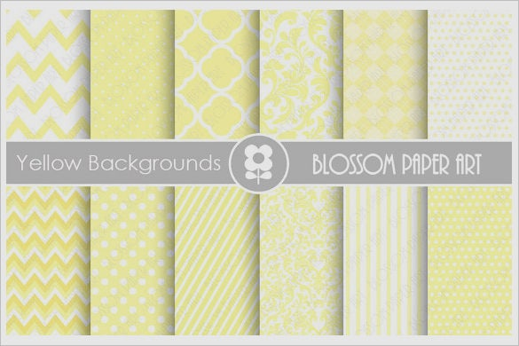 awesome digital yellow textures collection