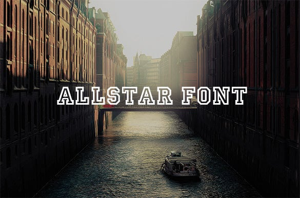 allstar stylish baseball font for you