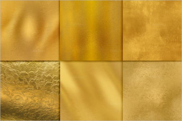 awesome gold textures set