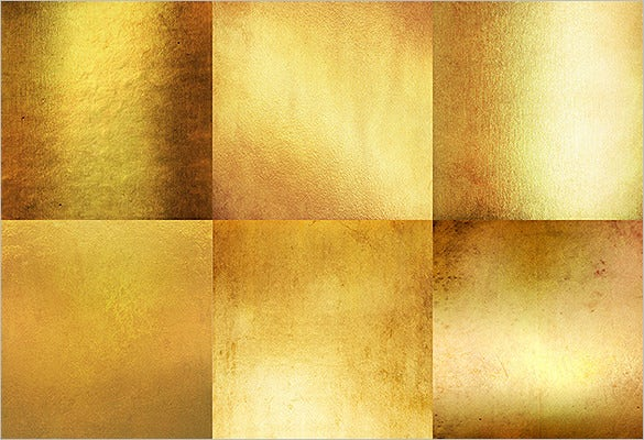 awesome bright gold textures set
