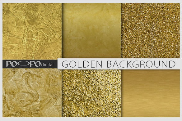 multiple bright gold textures set