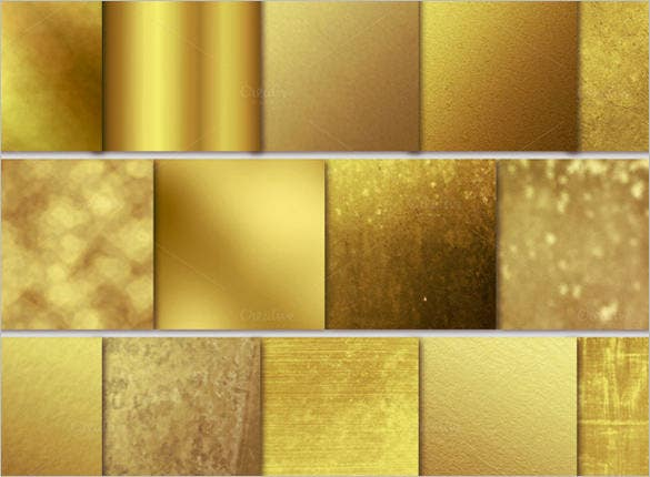 different gold textures set