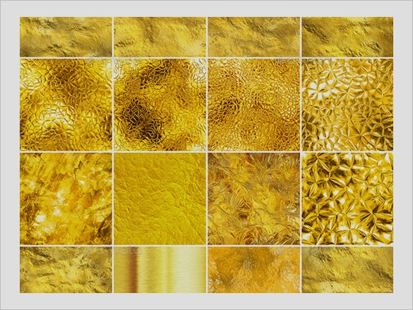 awesome gold textures collection