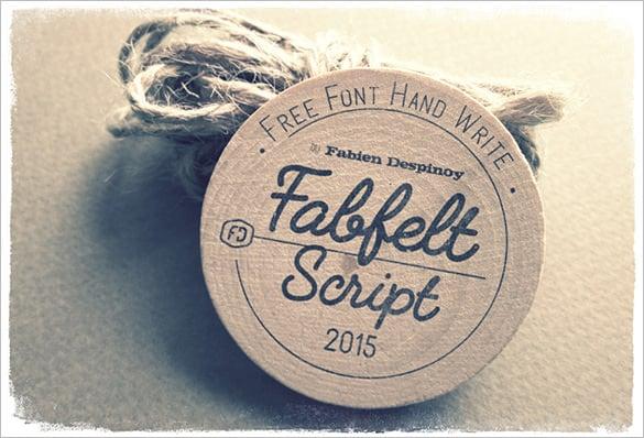 fabfelt script commercial font for free
