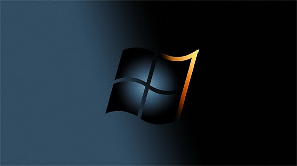 black screensavers for windows 7