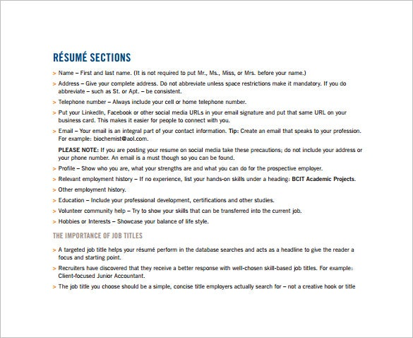 functionla combination resume pdf free download