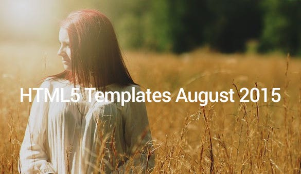 HTML5-Templates-August-2015