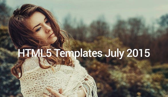 HTML5-Templates-July-2015