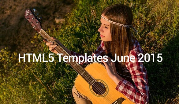 HTML5-Templates-June-2015