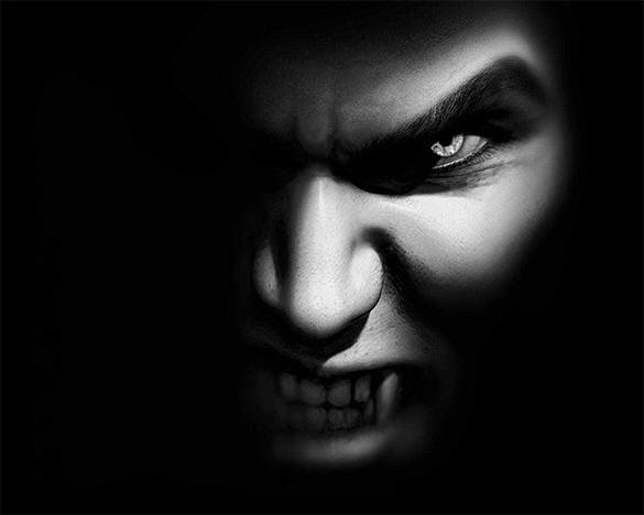 Dark Vampire Wallpaper Free Download