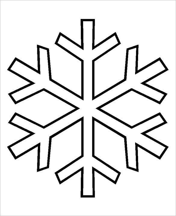 Free Snowflake Patterns Simple