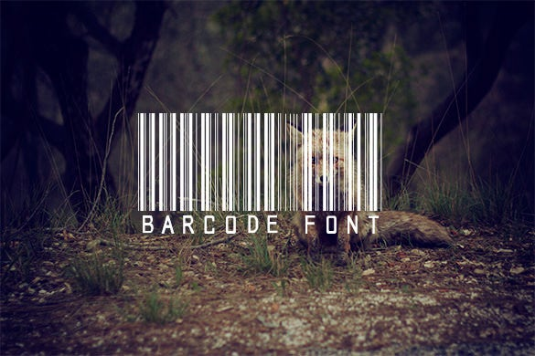 amazing barcode font free download
