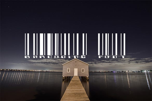 free barcoding font for you